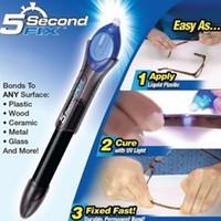Wholesale 5 Second Fix UV Light Repair Cure Tool Repair Tool With Glue Super Powered Liquid Plastic Welding Compound
