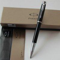 Wholesale Parker Fountain pen with original box fashion gift fountain pen IM good quality pen black with silver clip