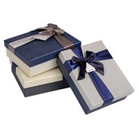 Wholesale Factory Price Rectangle Paper Box Colors for Pick Gift Packaging Boxes Scarf Boxes for Christmas Day