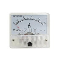 Cheap Wholesale-Fine Tuning Dial Panel Ampere Meter Gauge 85L1 AC 0-1A