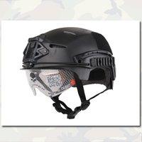 airsoft tactical helmets - Tactical Helmet EXF BUMP Protective Helmet Emerson Head Equipment High Quality Outdoor Helmet Black Camo Airsoft Equipment