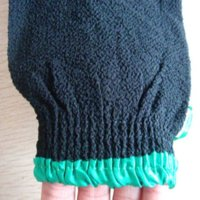 Wholesale 2015 hot sell black hammam scrub mitt magic peeling glove exfoliating bath glove morocco scrub harder coarse feeling