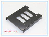 Wholesale New quot SSD HDD To quot Metal Mounting Adapter Bracket Dock For PC SSD Holder Voltage Regulator