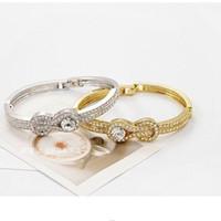 Bijoux de mode pour la femme Corée du Sud de haut grade de commerce extérieur ordre de gros bracelet Obi boucle de forme boucle de forme - E61