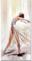 angels ink - Ballet girl dancing like angel handpainteed oil Painting on canvas X90CM