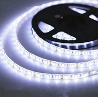 Wholesale Waterproof Flexible LED Strip Light with DC V LED SMD Pure White feet M