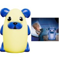 Wholesale NEW Bright Portable Glowing Nightlights Companion Dog Time Buddies The Night Light Lamp You Can Take with You