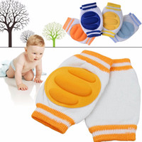 Wholesale 1 Pair Comfortable Baby Kids Toddler Crawling Safety Protector Knee Caps Pads