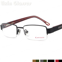 Wholesale New Fashion Last design Women Fancy Frame Glasses Red Black Brown Color Metal Stainless Steel Eyeglasses Optical Eyewear NS2054