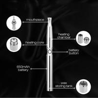 adjusting plastic glasses - E cigarette W1 Wax Vaporizer Pen adjust voltage v v v cdb ceramic cartridge atomizer tanks vaporizer pen kits