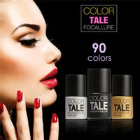 Wholesale Hot Blooming Colors Gel Polish Soak Off UV Lamp Nail Art Nail Gel Polish for Nail Gel by FOCALLURE