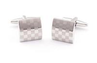 Wholesale fashion design men shirt cufflink french cufflinks business gift laser cuff link fasther s day gift cufflinks