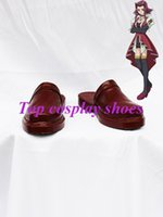 akiza cosplay - Freeshipping Yu Gi Oh Akiza Izinski Brown Cosplay Shoes Sandals custom made for Halloween Christmas festival party