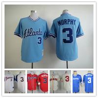 atlanta wholesalers - cheap good quality MLB baseball Jerseys Atlanta Braves jerseys MURPHY freeshipping