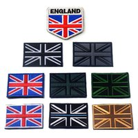 badge embroidery uk - 50 Embroidered United Kingdom Flag Patches Army Patch D UK Tactical Military Patches Fabric Cloth Flag Badge