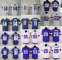 anthony mix - 2016 New Jerseys Stefon Diggs Teddy Bridgewater Adrian Peterson Trae Waynes Anthony Barr Harrison Smith Mix Order