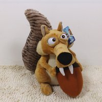 age elephant - 5 Styles Elephant bradypod Squirrels Tiger plush toy Ice Age Plush Doll toys children christmas gift