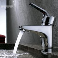 Wholesale Bathroom Basin Faucet Copper Vessel Sink Water Tap Mixer Chrome Finish