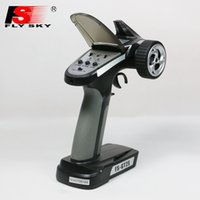Wholesale 1pcs Original Flysky FS GT2E AFHDS A g CH Radio System Transmitter for RC Car Boat with FS A3 Receiver Drop freeship