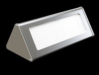 battery lifetime - Outdoor Aluminium Alloy Triangle LED Solar Wall Light Garden Lamp Microwave Radar Induction Years Lifetime Lithium Iron Phosphate Battery