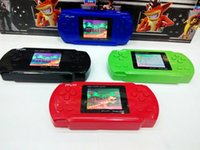 Wholesale Portable PVP POCKET inch Handheld Game Player pvp TV Out bit Pocket games player with retail box for Kid gifts