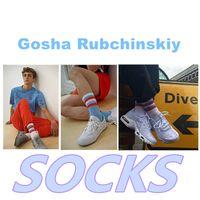 Wholesale Socks Gosha Rubchinskiy sport cnopt sun flag stripes leading contemporary fashion thin Cotton meias men calcetines homme