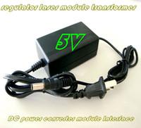 Wholesale 3 V V V regulator laser module transformer DC power converter interfaces adapter V V AC voltage