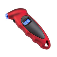 Wholesale LONN New Arrival Red Color LCD Instant Read Car Wheel Digital Tyre Tire Pressure Gauge PSI
