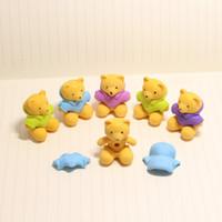 bear eraser - Creative IDY cute bear erasers rubbers for schools animal erasers