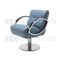 Wholesale Hairdressing chair salon styling chair high quality salon beauty chair hair cut chair barber salon chair blue leather salon chair