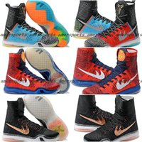 basket weave leather - 2016 New Kobe X Basketball Shoes Elite What The For Sale Men Retro Sneakers High Cut Weaving Sports Shoes Cheap On Sale Basketball Shoes