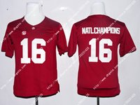 alabama champions - NWT Alabama Crimson Tide Ridley Derrick Henry Natl Champions Red Men s Limited Jersey Embroidery Logos Stitched Jerseys Uniforms