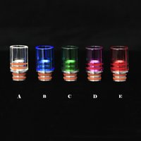 air bearing design - Friction Drip Tip Friction Ecig new Drip Tips O ringless Design Drip tips Air Flow Wide Bore for RDA RBA Atomizer SS Gold DHL Free