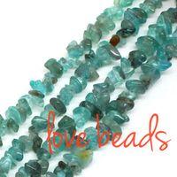 beads natural kyanite - 5mm mm Freeform Natural Kyanite Gravel Loose Beads Strand CM For F00328