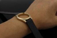 aerospace materials - Misfit shine watchbands aerospace materials genuine leather to prevent the loss of smart watch watchbands
