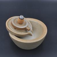 Wholesale Chinese Millstones Modeling Incense Burner Free Backflow Incense Cones for Burning Stick Backflow Incense Base Stove Holder