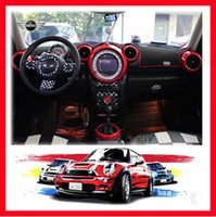 Wholesale ABS Material UV Protected Interior Rings Checker Style For mini cooper R60