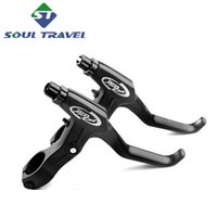 bicycle parts cranks - Soul Travel Pair Brake Line Levers Avid Fr5 Aluminum Alloy V brake Disc Brakes Lever Bicycle Handle Crank Parts Zapatillas