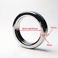 Wholesale A024 mm thickness mm mm mm mm stainless steel cockring male metal cock rings sex toys help erection extending sex time