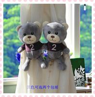Wholesale 2016 Creative cartoon bear plush curtains strap children room household curtain decorating multicolor curtain clip