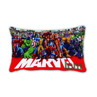 alliance travel - Avengers Alliance American Hero Art Painting Decorative Pillow Case Cover Euro Pillows Travel Emoji Home Decor Vintage Gift Size X30