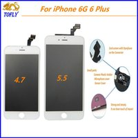 Wholesale For iPhone iPhone plus Lcd Display Touch screen Digitizer Replacement Repair Parts Best Quality