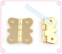 Wholesale Furniture Hinge small hinges for jewelry box copper mm mm