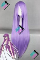 athena wig - Athena Wig Saint Seiya Wigs Athena Cosplay Wig Purple Womens Saint Seiya Cosplay Wigs