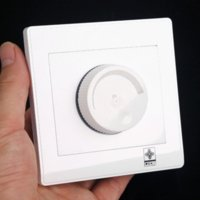 Wholesale Wall Switches AC V Adjustable Controller Dimmer Light Bulb Dimmable Lamp Wall Switch switch poe