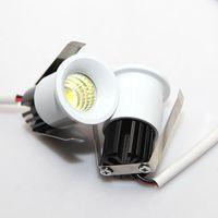 aluminum glass showcase - LED downlight spotlight beam micro mini spotlights w desk lamp jewelry showcase lamp cabinet wine cabinet lights