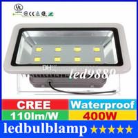 Wholesale CERR Led Floodlights W Led Canopy Lights Gas Station Lighting Outdoor Led Garden Lights AC V Free DHL FEDEX