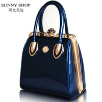 Cheap Wholesale-SUNNY SHOP Fashion Skull Diamonds Women Bag Crystal Ladies Evening Bag Bride Tote Bag Women Wedding Handbag Brand Designer