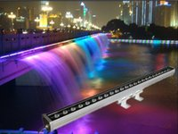 Wholesale 24pcs w RGBW DMX outdoor led wall washer light led bar light for wedding up light