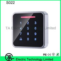 Wholesale S022 wiegand input access control RFID card standalone access control with keypad single door proximity card access control